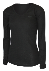 WOMENS LONG SLEEVE V-NECK