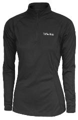 WOMENS LONG SLEEVE 1/4 ZIP