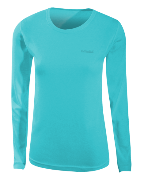 WOMENS LONG SLEEVE CREW - Click Image to Close