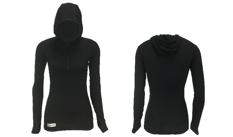 Womens Long Sleeve Hoodie - Click Image to Close